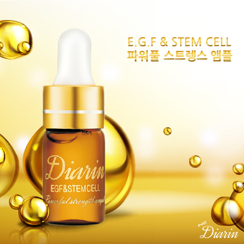 New Diarin E.G.F & STEM CELL Powerfull Strength Ample